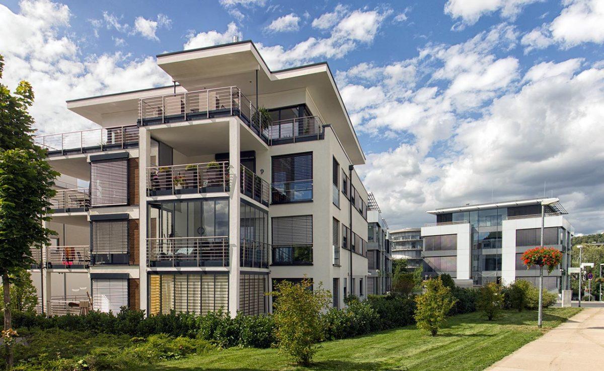Beispiel einer Stadtvilla. Foto: Rolf Mauer